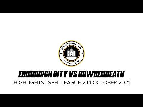 Edinburgh City Cowdenbeath Goals And Highlights