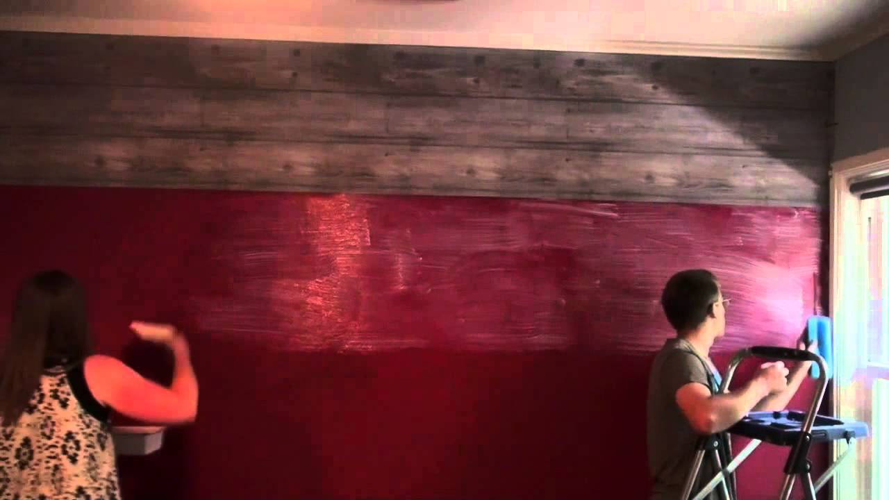 how to hang wallpaper horizontally youtube. Black Bedroom Furniture Sets. Home Design Ideas