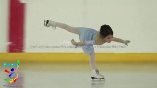 Зарина Хусаинова (Юный фигурист)