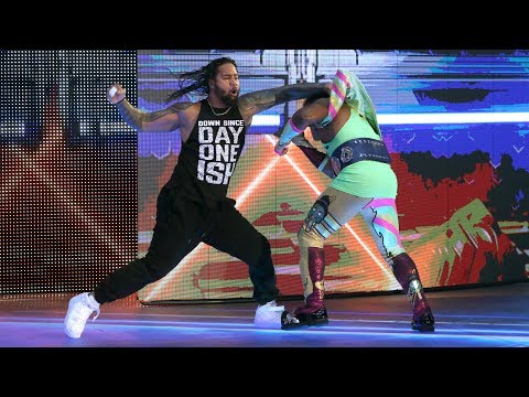 See The Usos' brutal attack on The New Day...