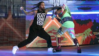 See The Usos' brutal attack on The New Day up-close: July 27, 2017