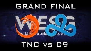 TNC vs Cloud 9 800k💲Grand Final WESG Highlights Dota 2