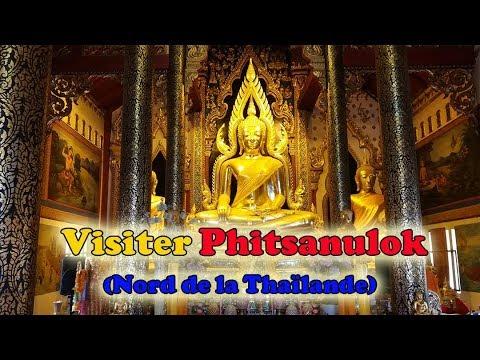 Voyager en Thaïlande :  Phitsanulok, temples, fabrique de Bouddhas et légumes volants  (VLOG)