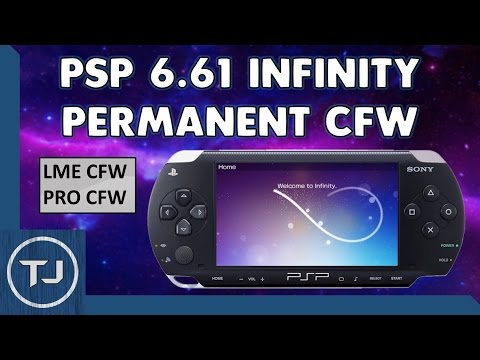 PSP 6.61 Infinity Permanent CFW (LME & PRO) 2018 Tutorial!