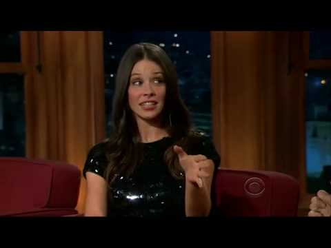 Evangeline Lilly on the Late Late Show with Craig Ferguson pt.1