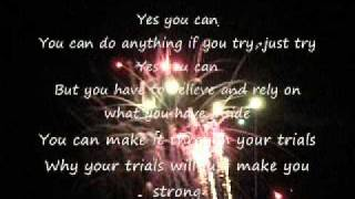 Yes You Can Donnie McClurkin Lyrics