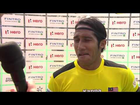 Post Match Interview Tengku Ahmad