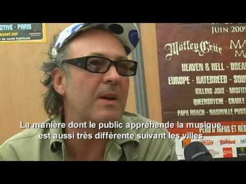 KILLING JOKE INTERVIEW HELLFEST 2 - AUDIENCE