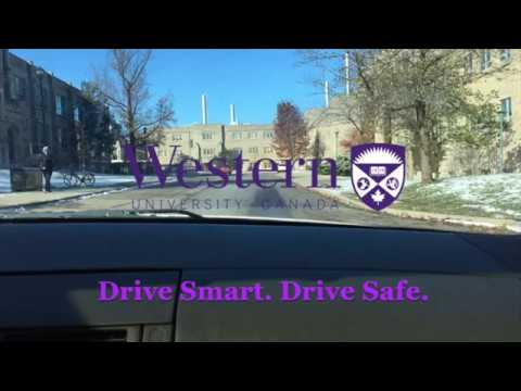Pedestrian Safety on the University of Western Ontario Campus