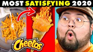 Generations React To Most Oddly Satisfying Videos 2020 (Hydro Dipping, Tire Crushing & More!)