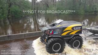 9-16-2018 Chinquapin, NC boat Ride along rescue family from deep flooding with SOTS and drone