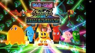 Pac-Man & Galaga Dimensions | Citra Emulator (CPU JIT) [1080p HD / 60 FPS] | Nintendo 3DS
