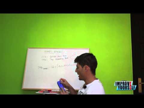 Calcular TMB masculino - Metodo Harris Benedict