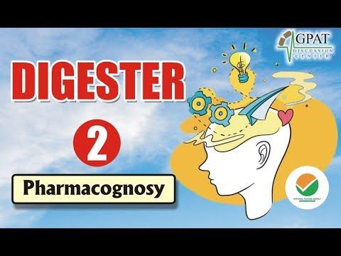 DIGESTER-2 | IMPORTANT TERM OF PHARMACOGNOSY | GPAT-2020 | NIPER| PHARMACIST