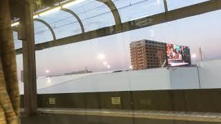 [MHハーフ]名鉄2000系ミュースカイ 2012f+2006f(ミュースカイ中部国際空港行き)上小田井駅 通過MHハーフ