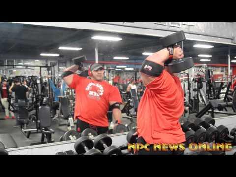 IFBB Pro Big Ramy Off-Season Arm Training Workout -