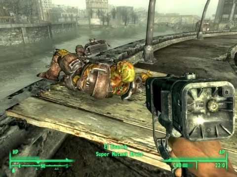 Fallout 3 part 15 Farragut West Metro Station