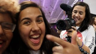 VLOGCEPTION WITH ELLE MILLS!!! (PLAYLIST LIVE DAY 2)