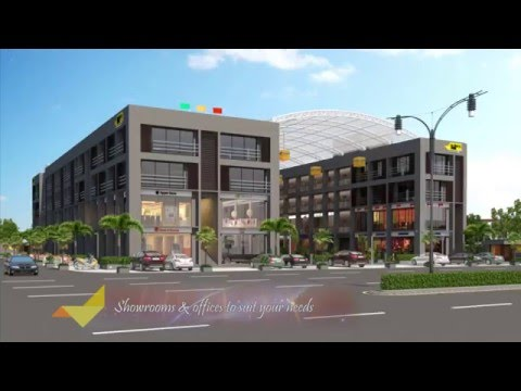 Business Park 3d architectural walkthrough created by Blueribbon 3d animation studio