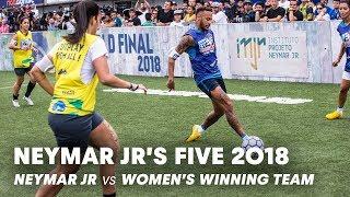 Download Neymar Jr's Five 2018: Neymar Jr vs Women's Winning Team   Five-A-Side Football Tournament