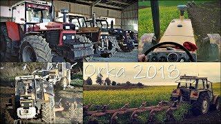 Orka Poplonu 2018 na 6 ciągników !! ✔ GR Mokrzyn VLOG #11 - 50 hektarów w 9 GODZIN!! WTOPA!