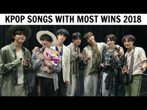 KPOP SONGS WITH MOST WINS | Music Shows 2018 (1st Half)