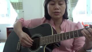 Người yêu dấu | Guitar cover Thúy Hằng