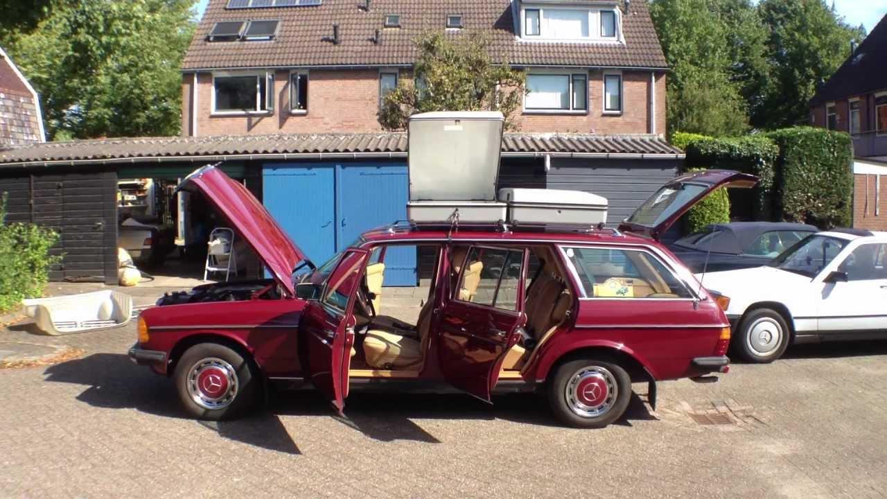 1985 Mercedes Benz W123 T Model 200t Dodie 2012 Youtube