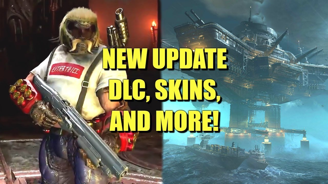 Doom Eternal New Update Dlc Skins And More Youtube