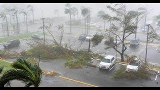 Hurricane Maria Strikes Puerto Rico Island has no Power Breaking News September 2017