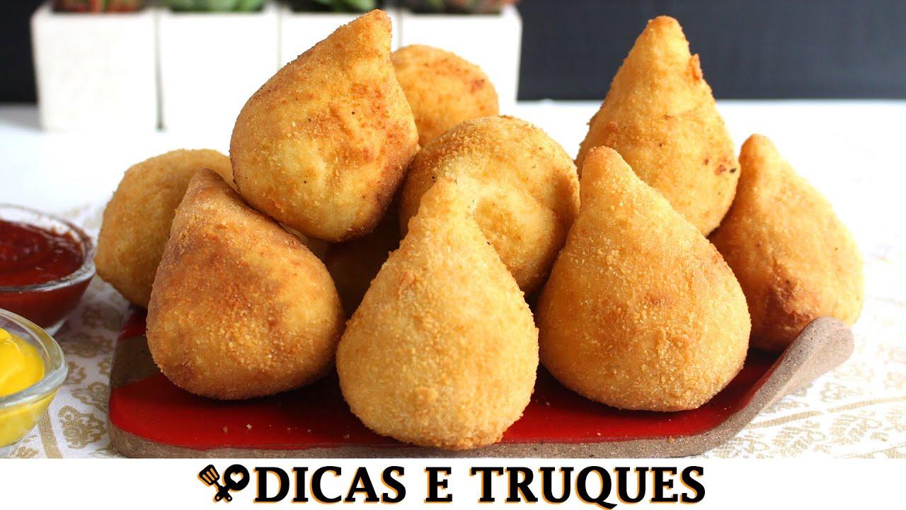 MASSA DE BATATA PARA SALGADINHOS - RECEITAS QUE AMO