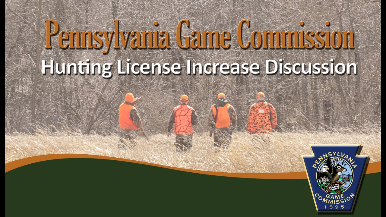 Hunting license increase discussion youtube for Nh fishing license