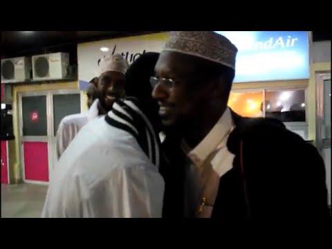 Soo dhawaynta sheekh Mustafe Magaalada Nairobi