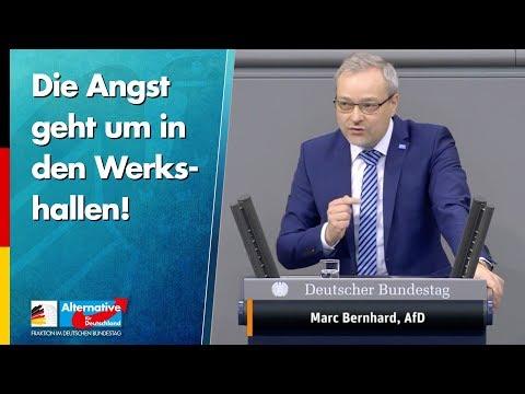 Die Angst geht um in den Werkshallen! - Marc Bernhard - AfD-Fraktion im Bundestag