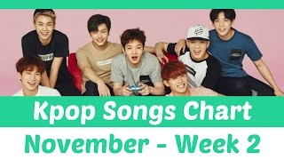 Download [TOP 30] K-Pop Songs Chart - November 2016 (Week 2) Mp3
