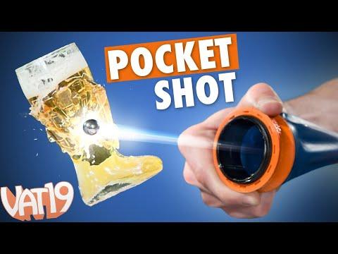 Pocket-Sized Slingshot is Crazy Powerful