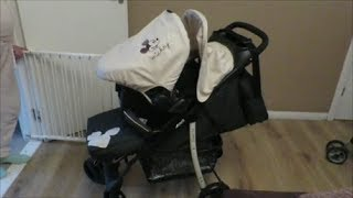 Hauck Disney Baby Travel System (charcoal Mickey)