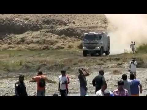 RALLY DAKAR 2012 PERU  TACNA - SAMA (sin editar) - The power of monster trucks