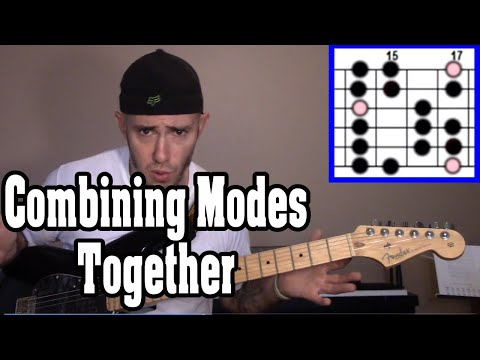 How to Combine Modes Together Over Chords That are all in the Same Key