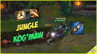 ✔ 5.0 ATTACK SPEED KOG'MAW REWORK JUNGLE - PBE Live Commentary | League of Legends