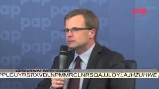 Debata PAP Biznes o OFE - Ludwik Kotecki z Ministerstwa Finansów, cz. 1