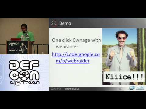 DEFCON 18: Hacking Oracle From Web Apps  3/4