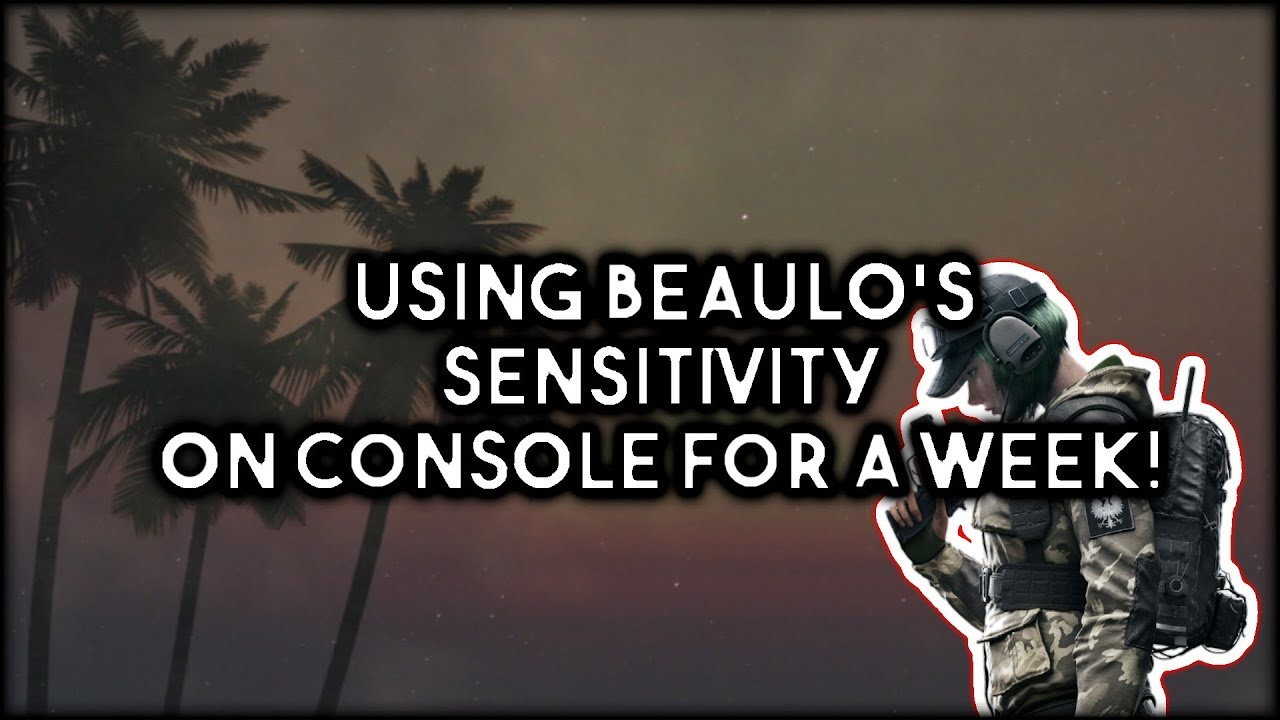 Using Beaulo's Sensitivity For A Week On Console! by clue