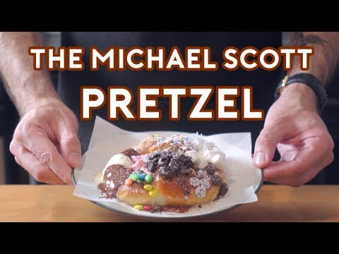 Binging with Babish: Michael Scotts Pretzel from The Office