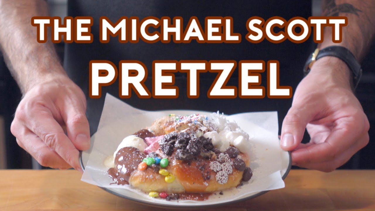 Michael Scott\'s Pretzel inspired by The Office — Binging ...