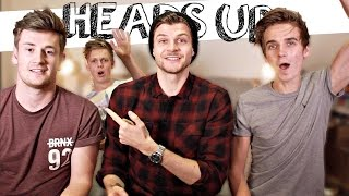 HEADS UP WITH JOE SUGG, CASPAR LEE & OLI WHITE!
