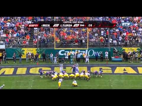 2008 Capital One Bowl Michigan vs #9 Florida