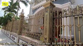 Cổng nhôm đúc Tiền Giang