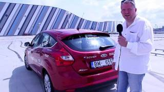 Ford Focus 2011 tests Latvijas ceļos / ...