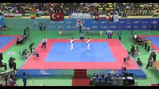 Lee Dae-Hoon (KOR) v Michael Harvey (GBR) | 2011 World Taekwondo Champs